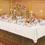 ディナーテーブル オールドファッションスタイル
