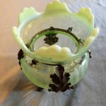 ヴァセリンガラス花器