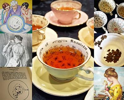 紅茶にまつわるアンティーク ~ヴィクトリア朝の大衆文化「紅茶占い」~