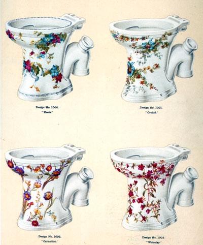 アンティーク ~ヴィクトリア朝に発達した「衛生陶器」~