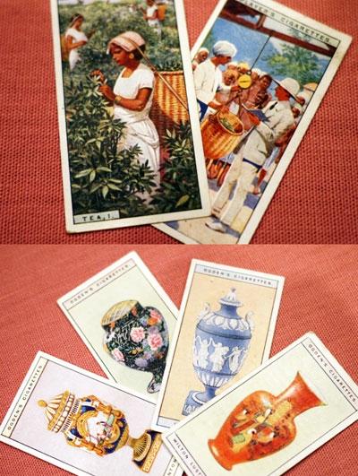 紅茶にまつわるアンティーク ~全部集めたくなる「ブルックボンド社のトレーディングカード」~