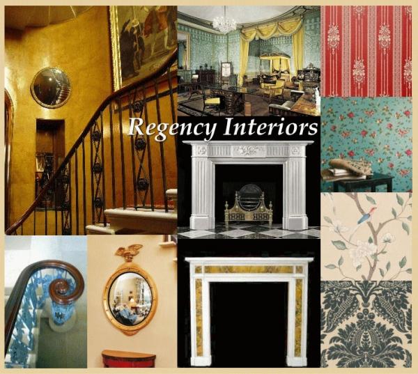 イギリス住宅の魅力 ~リージェンシーのインテリア~